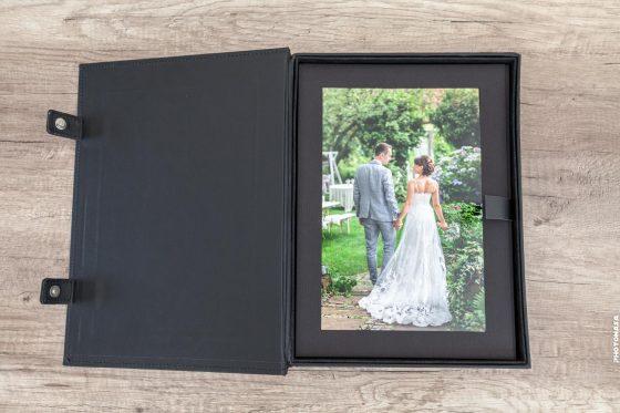 Hochzeitsbox für Fotos