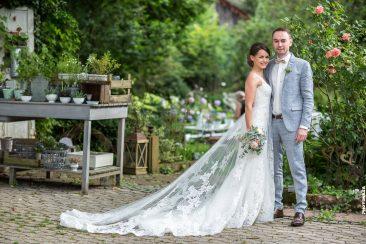 Brautpaar vereint
