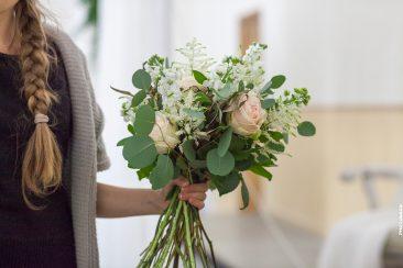 Blumenstrauß Floristin