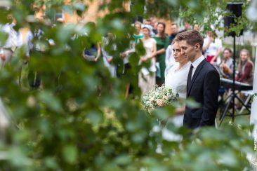 Braut und Bräutigam Trauung