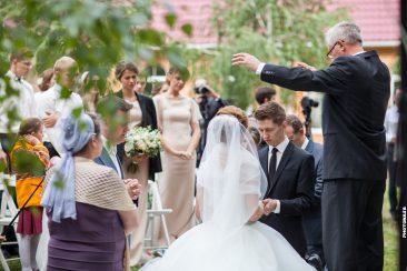 Brautpaar Trauung Gebet