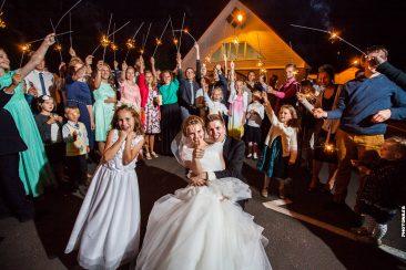 Verabschiedung Hochzeitspaar