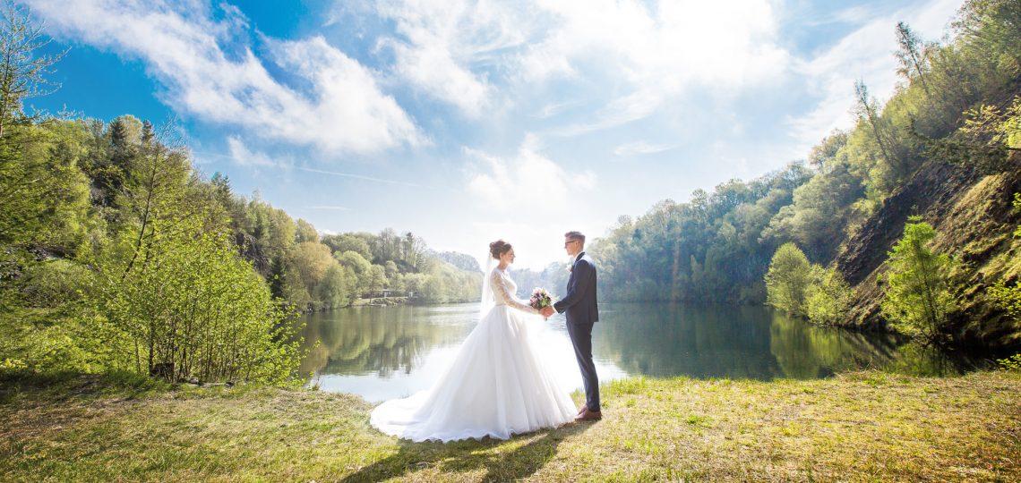 Hochzeit See Edi und Miri