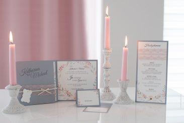 """Einladungskarte """"Pocketfold-Elegant"""""""